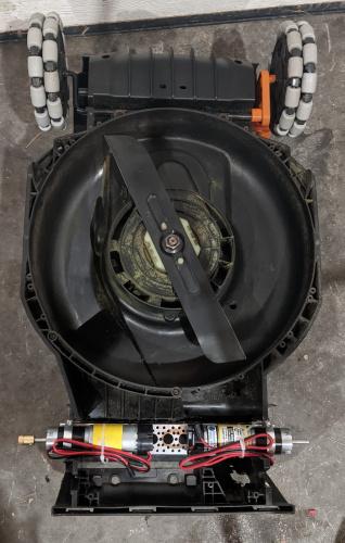 Mower Motor Replacement