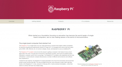 One page for all the Raspberry Pi resources that you'll need!