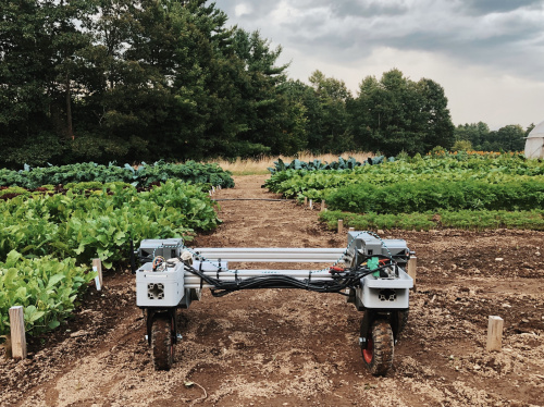 Farmhand Automation robot in the field