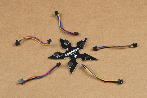 MultiStar with Smaller Qwiic Cables