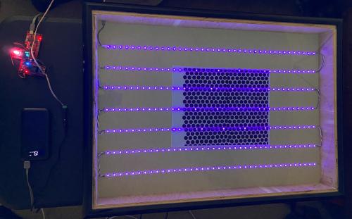 My tabletop UV exposure unit