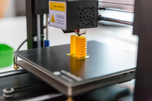 3D Printer printing an object