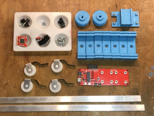 MicroMod Rail Car parts