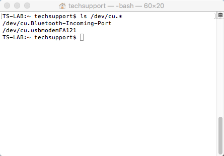 Mac OSX CLI Command Entry