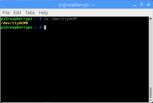 Raspbian CLI Command Entry