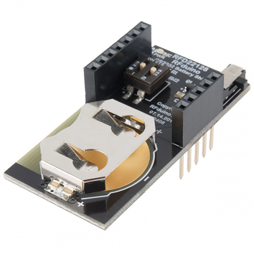 RFduino - CR2032 Coin Battery Shield