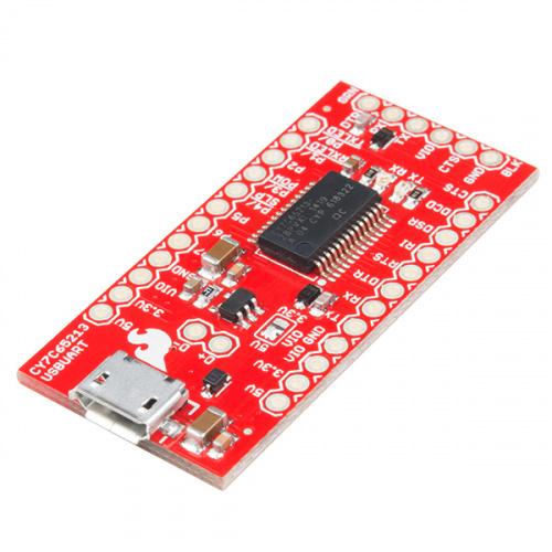 SparkFun USB UART Serial Breakout - CY7C65213