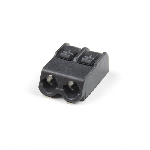 Poke Home Connector - 2-Pin