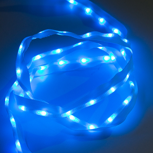 Sewable LED Ribbon - 1m, 50 LEDs (Blue)