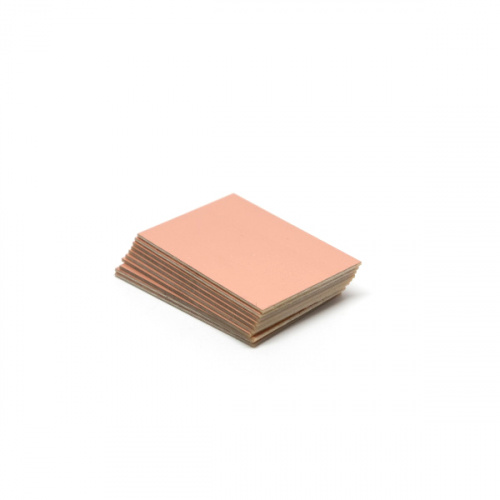 FR1 Copper Clad - Single Sided 2x3in (10 Pack)