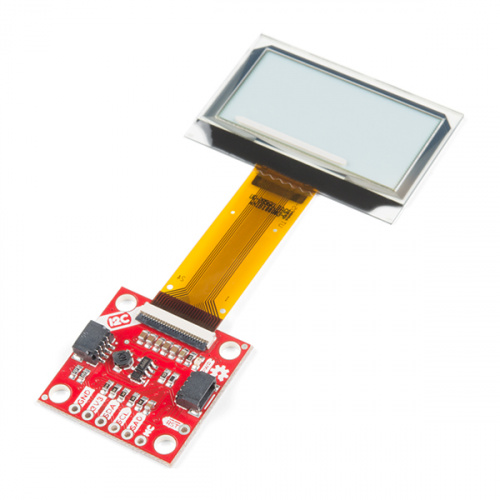 SparkFun Transparent Graphical OLED Breakout (Qwiic)