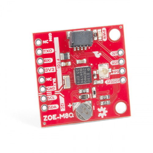 SparkFun GPS Breakout (ZOE-M8Q and SAM-M8Q) Hookup Guide