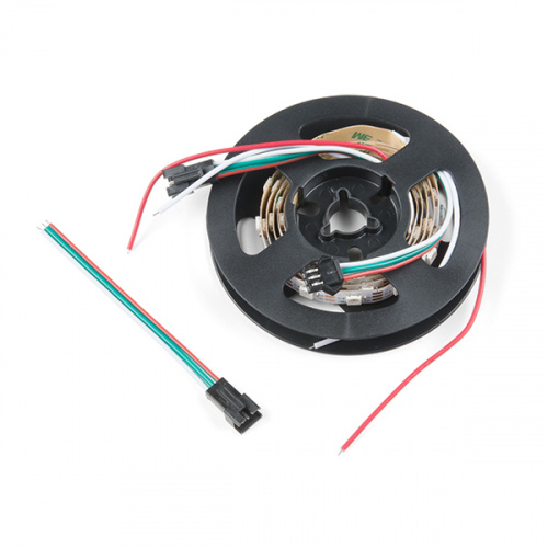 Addressable Led Strip Hookup Guide Learn Sparkfun Com