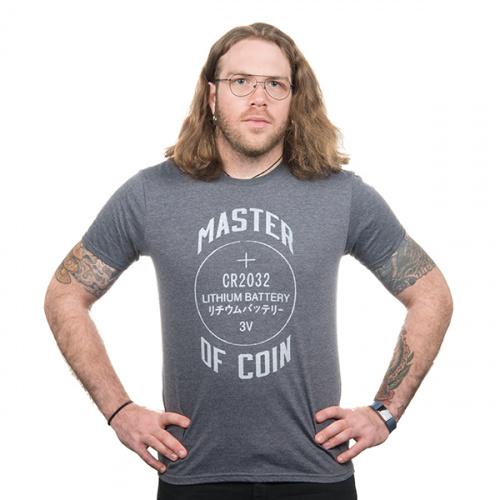 Master of Coin Shirt - Medium (Gray)