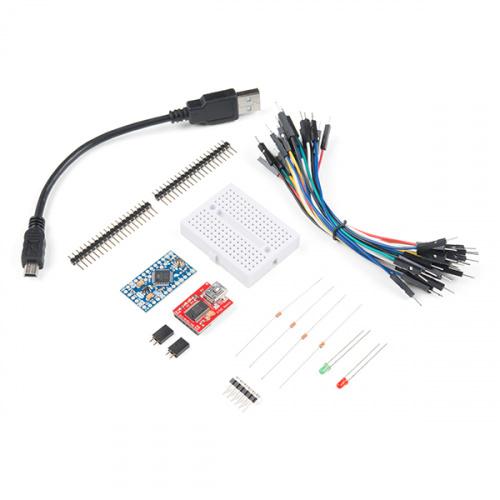 SparkFun Arduino Pro Mini Starter Kit - 3.3V/8MHz