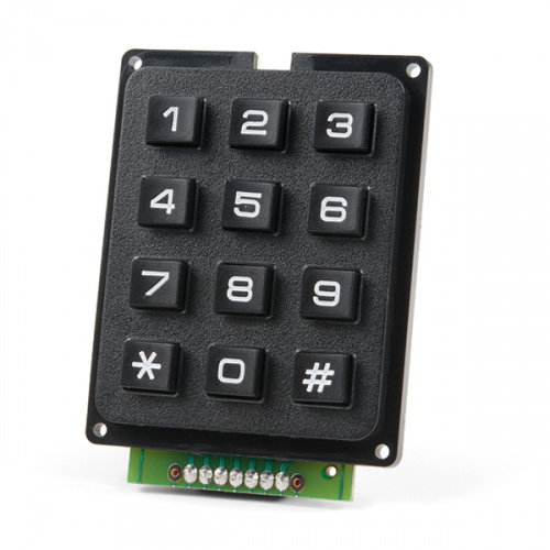 SparkFun Qwiic Keypad - 12 Button