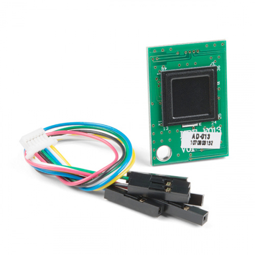 Capacitive Fingerprint Scanner - UART (AD-013)
