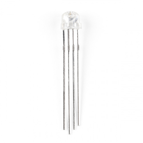RGB LED Clear Lens Common Cathode (5mm)