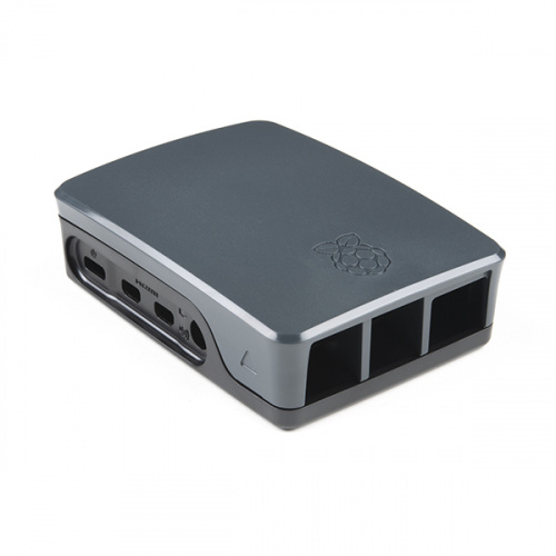 Official Raspberry Pi 4 Case - Black/Gray