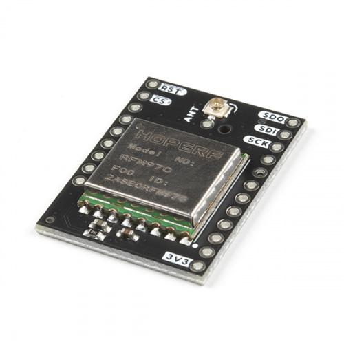 RFM97C小型屏蔽LoRa-100mW