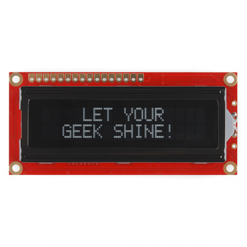 Basic 16x2 Character LCD - White on Black 5V