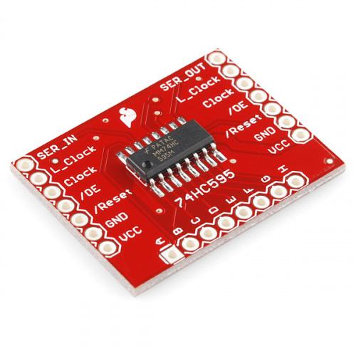 SparkFun Shift Register Breakout - 74HC595