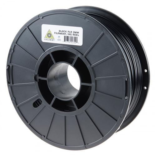 PLA Filament 3mm - 1kg (Black)