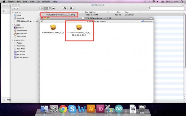 Mac Driver installation