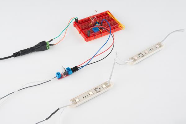 555 Timer circuit image