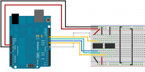 Breadboard to AutoDriver