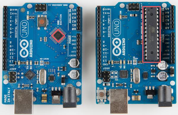 Arduino Uno SMD vs PTH