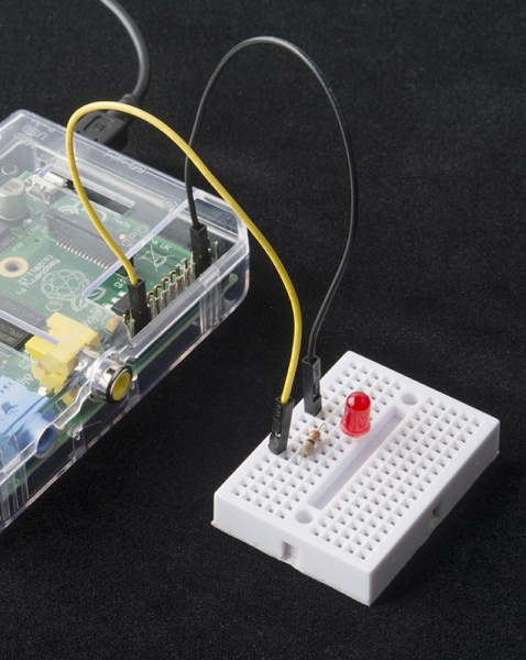 Raspberry Pi GPIO to LED