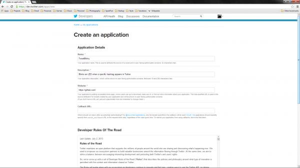 Create app