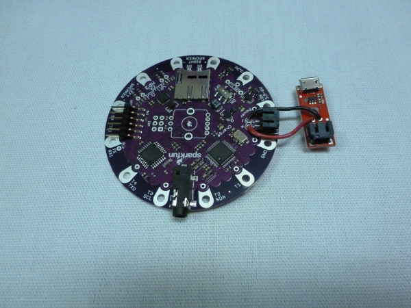 charge board soldered