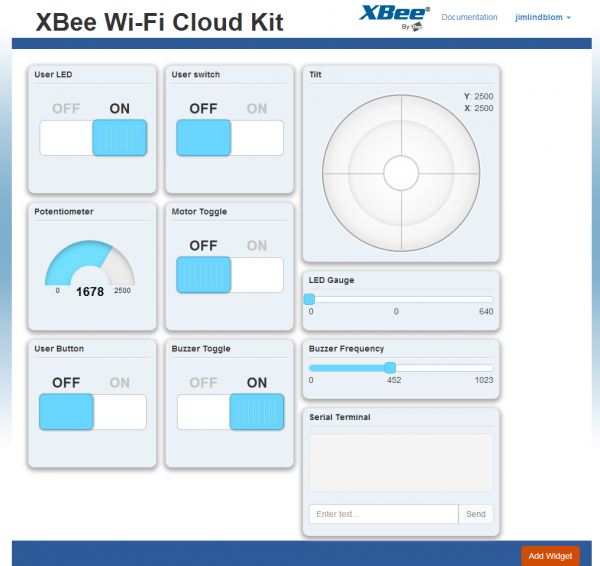 XBee Cloud Kit App