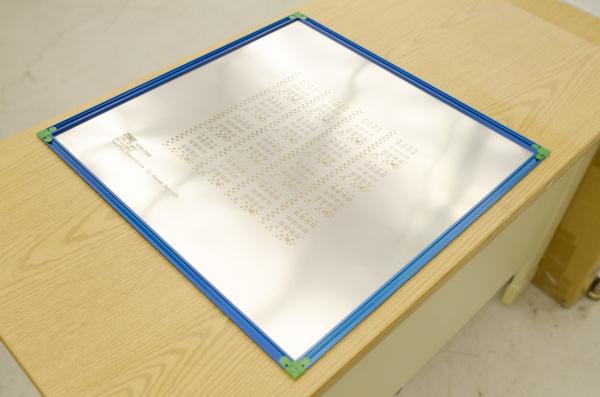 Solder stencil foil