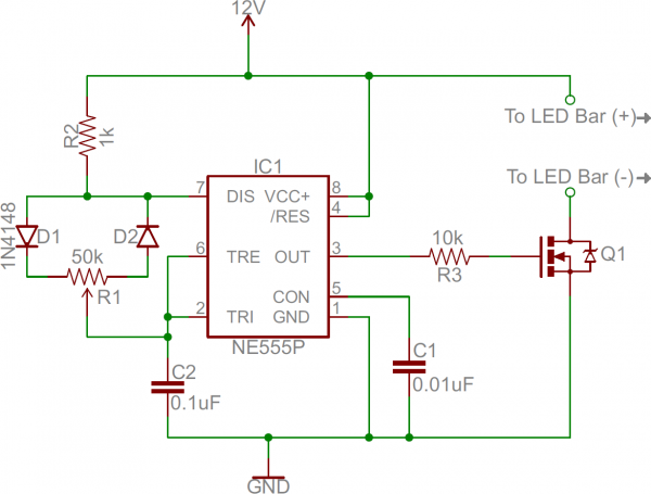 555 Dimmer circuit