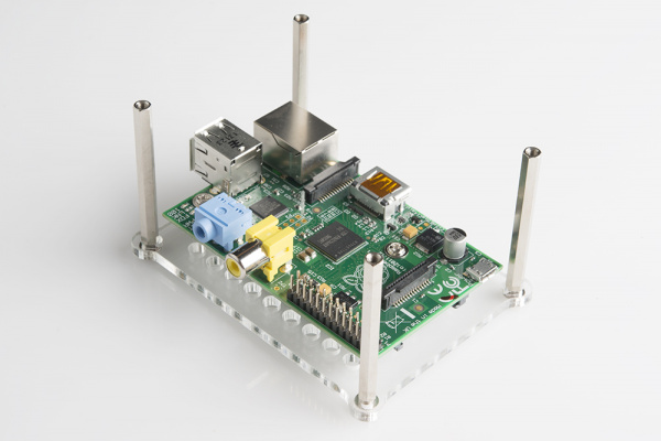BrickPi assembly process