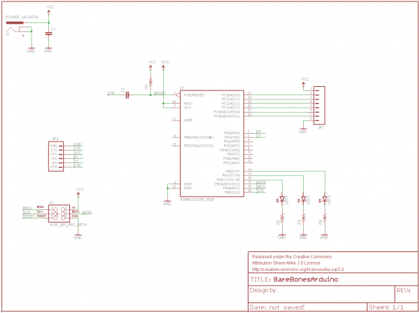 Schematic from previous tutorial