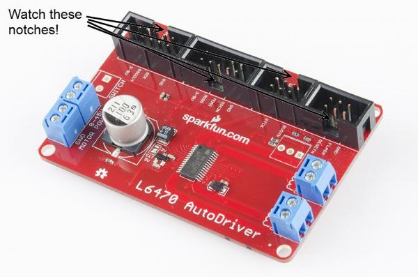 Assembled AutoDriver