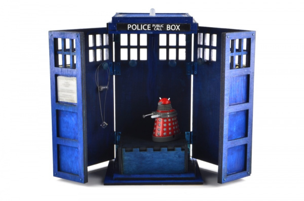 Tardis Music Box Open