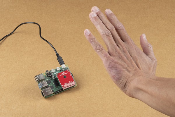 Hand in Front of A111 Sensor