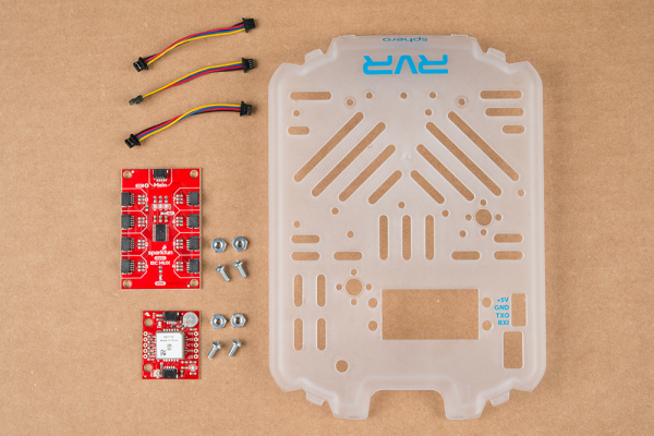 Parts, Boards, and RVR Cover Plate