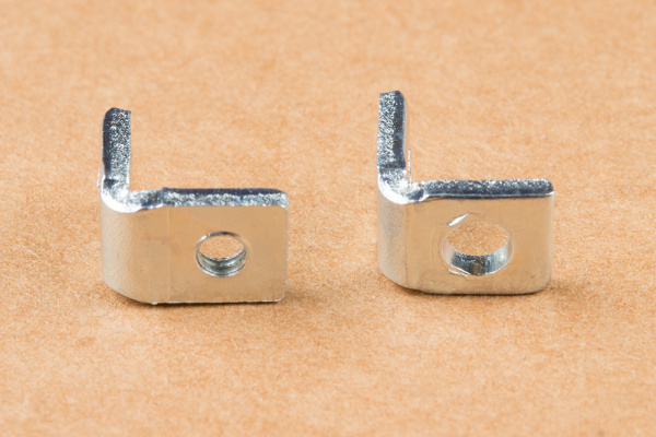 Right-angle brackets