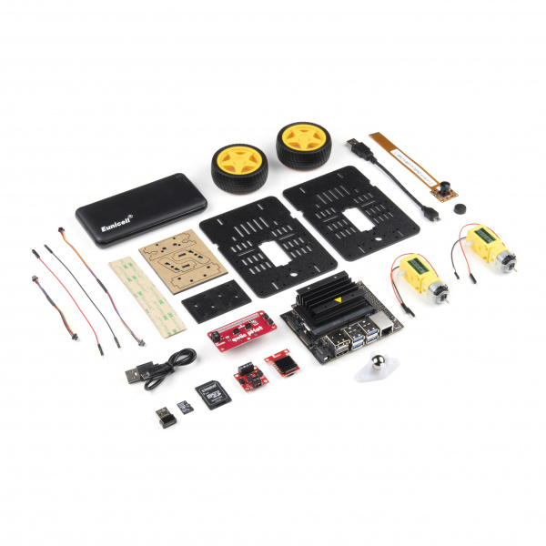 SparkFun Jetbot included parts