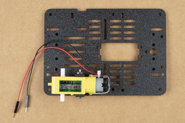 Demonstrating hardware orientation