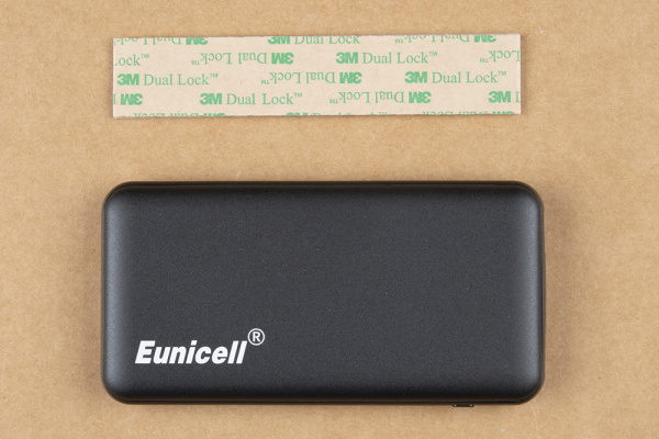 Battery pack and uncut Velcro