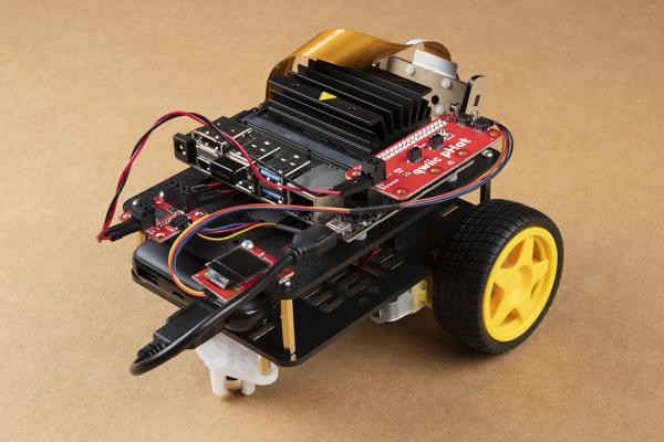 Fully assembled JetBot Kit