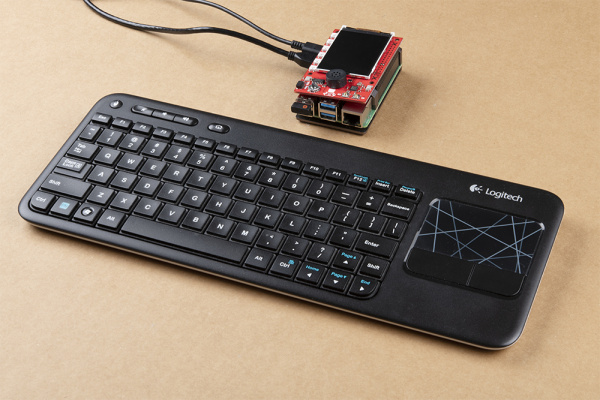 Pi4B desktop setup