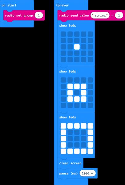 Screenshot of Basic Transmitting Code